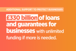 £330 billion of loans and guarantees for businesses