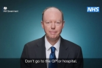 Embedded thumbnail for A message from Chief Medical Officer Chris Whitty